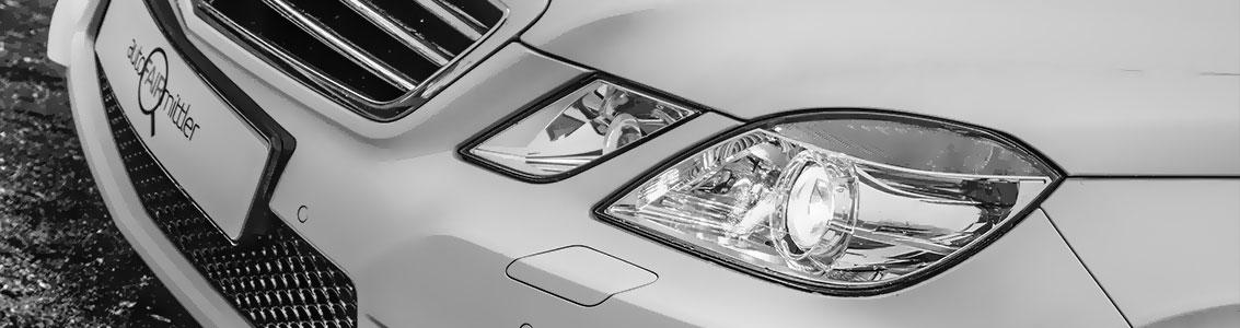 Auto verkaufen Teaser - Mercedes-Benz E-Klasse weiß AMG